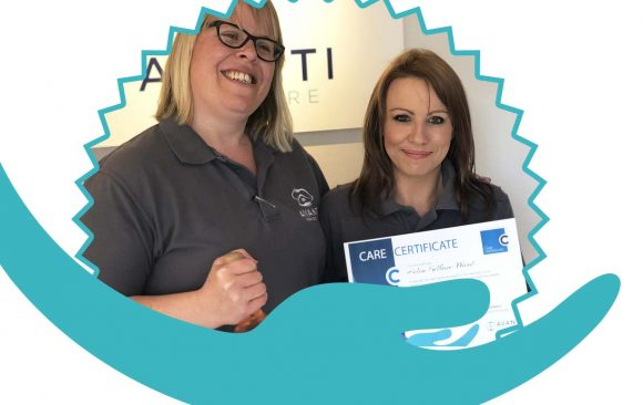 Our first employee passes the Care Certificate