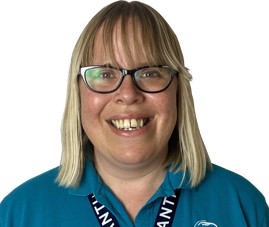 Lucy Middleton, Our Registered Manager for our Ripley branch