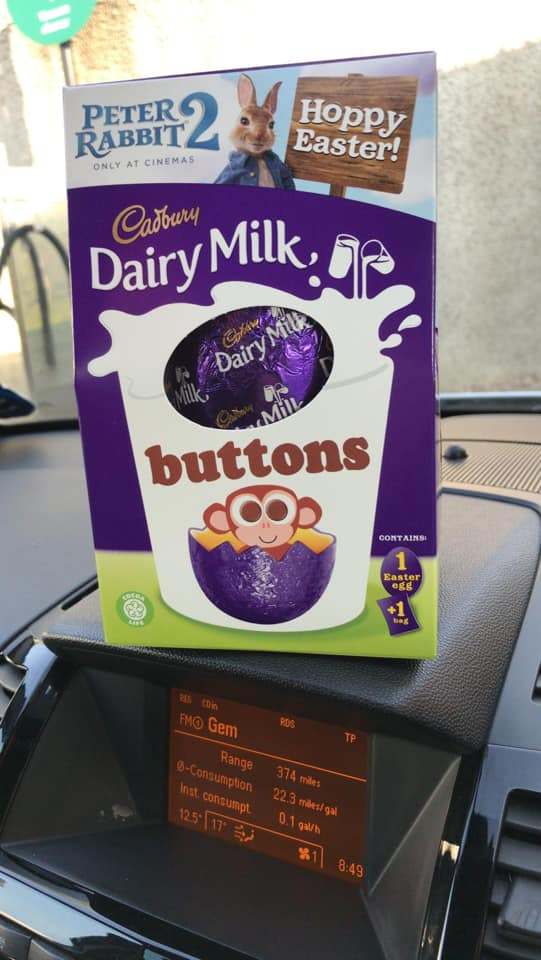An Easter egg from a client